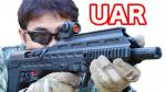 APS Airsoft UAR ブルパップ 電動ガン サバゲー 装備 マック堺のレビュー動画
