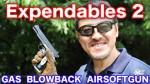 WA キンバーゴールドコンバット2 エクスペンダブルズ2 ガスブローバック レビュー・マック堺のレビュー動画